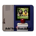 School Lockers Photo Mousepad - Large Mousepad