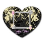 Bling Jewels Photo Mousepad - Heart Mousepad