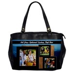 Travel Collage Photo Bag - Oversize Office Handbag