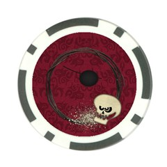 Pirate Poker Chip By Mikki   Poker Chip Card Guard   Ls3l4qvmvt10   Www Artscow Com Front