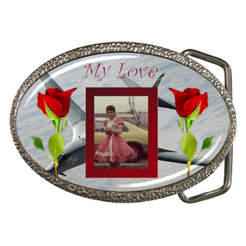 My Love By Kim Blair   Belt Buckle   Mxei1y21vjuf   Www Artscow Com Front