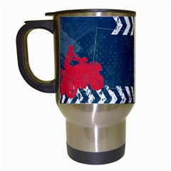 Atv/extreme Sports  Travel Mug By Mikki   Travel Mug (white)   Pob2vl2aom8n   Www Artscow Com Left