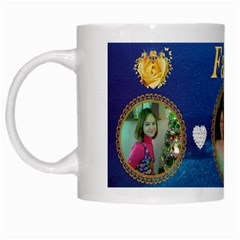 Family Mug By Kim Blair   White Mug   43s770nyac7c   Www Artscow Com Left