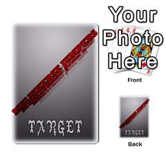 Mj   Deck 2 By Pierre   Multi Purpose Cards (rectangle)   Rmi43ggil3mx   Www Artscow Com Back 34
