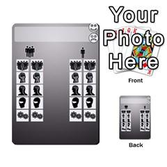 Mj   Deck 2 By Pierre   Multi Purpose Cards (rectangle)   Rmi43ggil3mx   Www Artscow Com Front 40