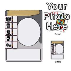 Mj   Deck 2 By Pierre   Multi Purpose Cards (rectangle)   Rmi43ggil3mx   Www Artscow Com Back 46