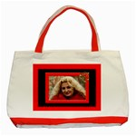 Red and Black Tote Bag - Classic Tote Bag (Red)