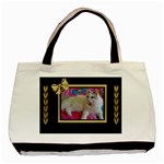 Black and Gold Tote Bag - Classic Tote Bag