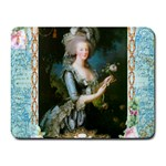Marie Antoinette Pink Roses And Blue 6 By 8 Copy Small Mousepad