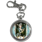 Marie Antoinette Pink Roses And Blue 6 By 8 Copy Key Chain Watch