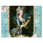 Marie Antoinette Pink Roses And Blue 6 By 8 Copy Jigsaw Puzzle (Rectangular)