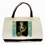 Marie Antoinette Pink Roses And Blue 6 By 8 Copy Classic Tote Bag (Two Sides)