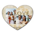 wedding - Mousepad (Heart)