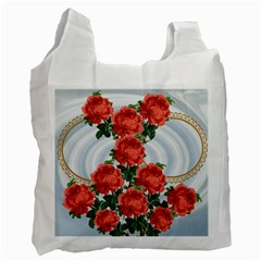 Roses Recycled Bag By Kim Blair   Recycle Bag (two Side)   Mp1akhexbfjw   Www Artscow Com Front