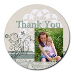 thank you - Round Mousepad