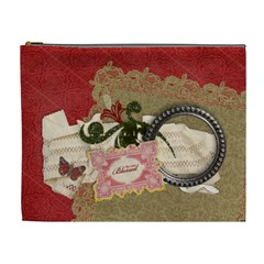 So Very Blessed Cosmetic Bag (xl) By Mikki   Cosmetic Bag (xl)   1frds8sa403u   Www Artscow Com Front
