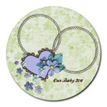 Baby/Love-round mousepad