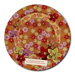 Friends/oriental-round mousepad