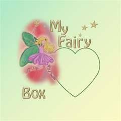 My Fairy Storage Box Stool By Deborah   Storage Stool 12    Obqa3v3jcz33   Www Artscow Com Top