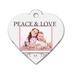 kids - Dog Tag Heart (One Side)