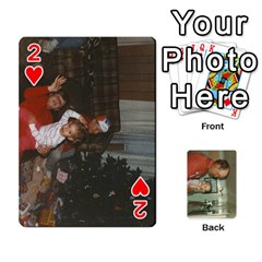Family Cards By Ashley   Playing Cards 54 Designs   T9rhhe5bf9w5   Www Artscow Com Front - Heart2