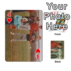 Family Cards By Ashley   Playing Cards 54 Designs   T9rhhe5bf9w5   Www Artscow Com Front - Heart4