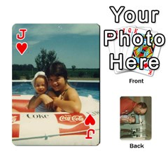 Jack Family Cards By Ashley   Playing Cards 54 Designs   T9rhhe5bf9w5   Www Artscow Com Front - HeartJ
