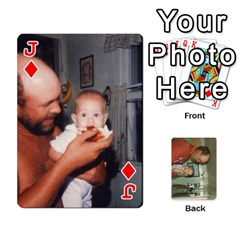 Jack Family Cards By Ashley   Playing Cards 54 Designs   T9rhhe5bf9w5   Www Artscow Com Front - DiamondJ