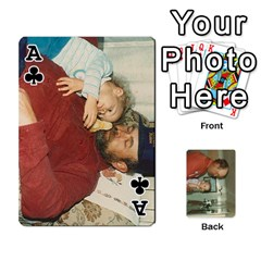 Ace Family Cards By Ashley   Playing Cards 54 Designs   T9rhhe5bf9w5   Www Artscow Com Front - ClubA
