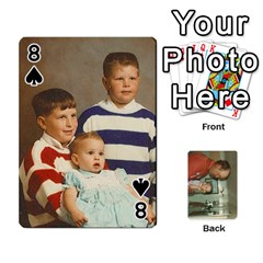 Family Cards By Ashley   Playing Cards 54 Designs   T9rhhe5bf9w5   Www Artscow Com Front - Spade8