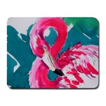 Flamingo Print Small Mousepad