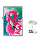 Flamingo Print Flip Top Lighter