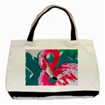 Flamingo Print Classic Tote Bag (Two Sides)