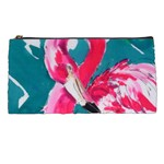 Flamingo Print Pencil Case