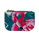 Flamingo Print Mini Coin Purse