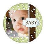 baby - Ornament (Round Filigree)