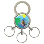 Holiday Key Chain - 3-Ring Key Chain