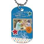 happy kids - Dog Tag (One Side)