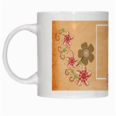 Sock Monkey Love Mug 1 By Lisa Minor   White Mug   3hp00a5eo2y8   Www Artscow Com Left