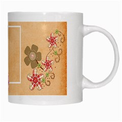 Sock Monkey Love Mug 1 By Lisa Minor   White Mug   3hp00a5eo2y8   Www Artscow Com Right