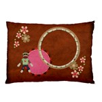Sock Monkey 1 sided pillowcase 1 - Pillow Case