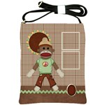 Sock Monkey Sling Bag 1 - Shoulder Sling Bag