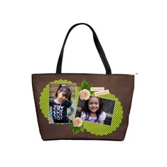 Shoulder Handbag   Cherished Memories By Jennyl   Classic Shoulder Handbag   C6cheex3djms   Www Artscow Com Front