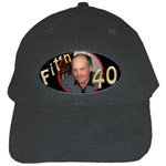 Fit n 40 Cap - Black Cap