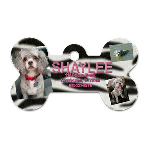 Shaylee Dog Tag by april Front