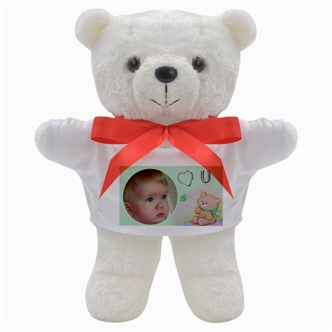Love You Teddy By Deborah   Teddy Bear   7atf848i1tfe   Www Artscow Com Front