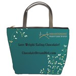 XOCAI Teal LARGE BAG - Bucket Bag