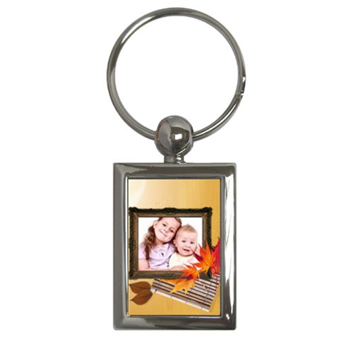 Kids By Wood Johnson   Key Chain (rectangle)   9xbai3urunu0   Www Artscow Com Front