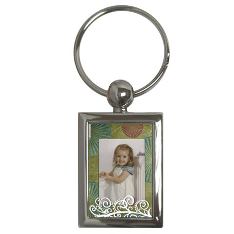 Cutie Keychain By Amanda Bunn   Key Chain (rectangle)   Zp4ceaso3eeq   Www Artscow Com Front