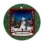 snow - Ornament (Round)
